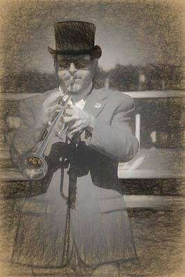 Photograph - Trumpeteer by Alice Gipson