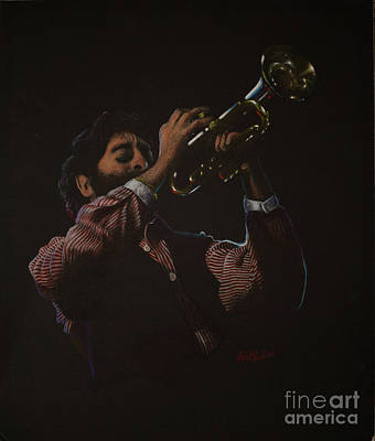 Painting - Trumpeteer by Lisa Bliss Rush