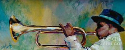 Painting - Trumpeter by Beverly Boulet