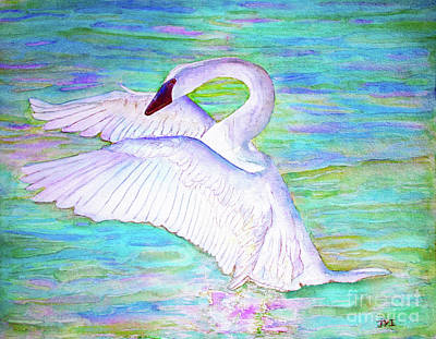 Painting - Trumpeter Swan by Janet Immordino