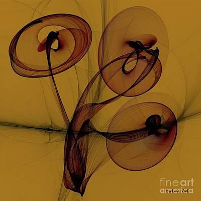 Digital Art - Trumpets Of Jericho by Dragica Micki Fortuna