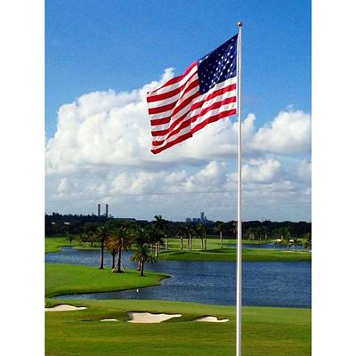 Sports Wall Art - Photograph - #trumpnationaldoral #doral #miami by Juan Silva