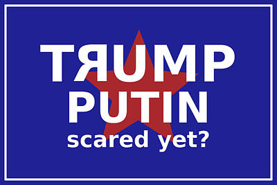 Digital Art - Trumputin by Richard Reeve