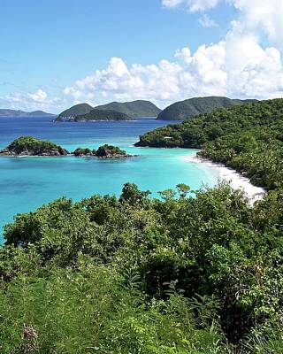 Photograph - Trunk Bay by Carol Bradley