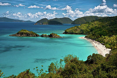 Photograph - Trunk Bay Overlook by Harry Spitz