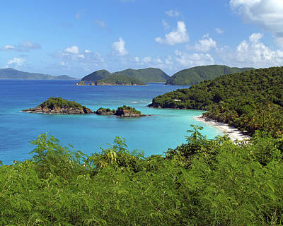 Photograph - Trunk Bay 1 by Pauline Walsh Jacobson