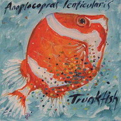Trunkfish Wall Art - Painting - Trunkfish by Senol Sak