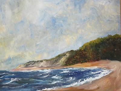 Painting - Truro Dunes by Michael Helfen