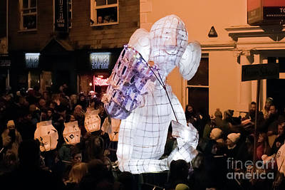 Photograph - Truro Lantern Parade Bfg by Terri Waters
