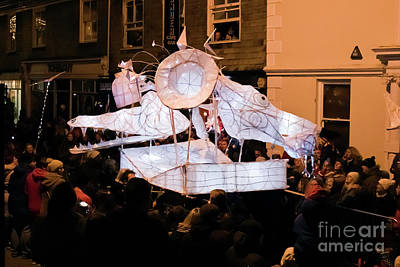 Photograph - Truro Lantern Parade Dragon by Terri Waters