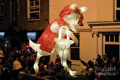 Photograph - Truro Lantern Parade Red Riding Hood by Terri Waters