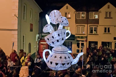 Photograph - Truro Lantern Parade Tea Party by Terri Waters