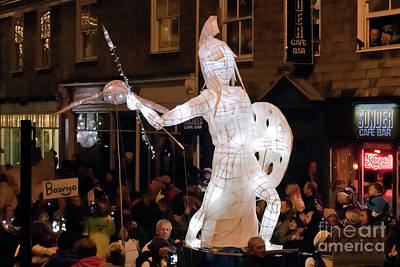 Photograph - Truro Lantern Parade Warrior by Terri Waters