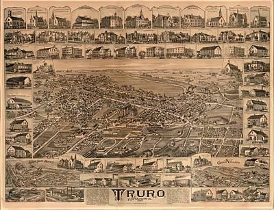 Truro Nova Scotia 1889 Art Print