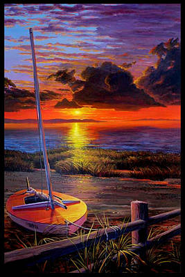 Painting - Truro Sunset by Michael Cranford