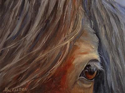 Painting - Trust by Debra Mickelson
