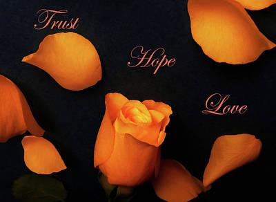 Unicorn Dust - Trust Hope Love by Johanna Hurmerinta