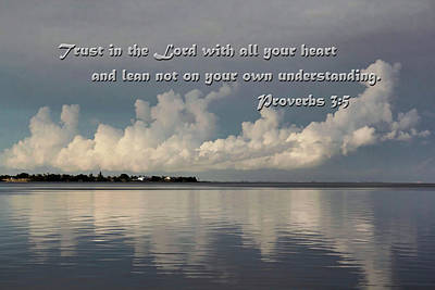 Photograph - Trust In The Lord by HH Photography of Florida