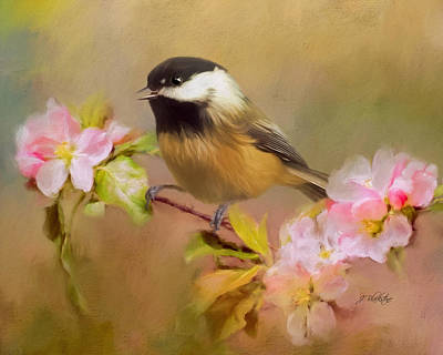 Painting - Trust - Songbird Art by Jordan Blackstone