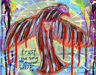 Trust Your Heart Song Original by Julia Ostara From Thrive True dot com
