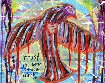 Trust Your Heart Song Original by Julia Ostara From Thrive True dot com