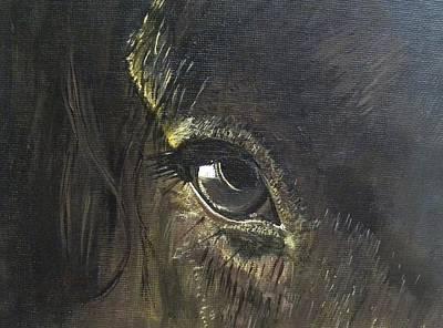 Trusting Eye Art Print