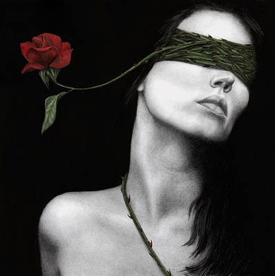 Surreal Painting - Truth Of Beauty by Pat Erickson