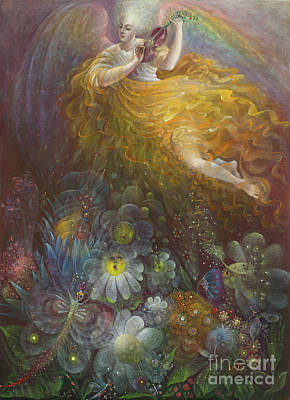 Gloria Painting - Truth Shall Spring Out Of The Earth And Righteousness Shall Look Down From Heaven by Annael Anelia Pavlova