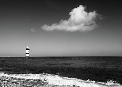 Photograph - Trwyn Du Lighthouse, North Wales by Marty Garland