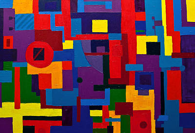 Painting - Try Hard You Will Find It by Gabi Dziok-Grubb