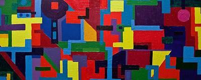 Painting - Try Harder... by Gabi Dziok-Grubb