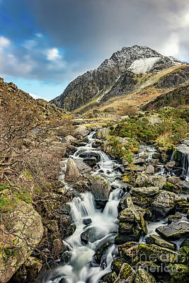 Photograph - Tryfan And Ogwen Falls by Adrian Evans