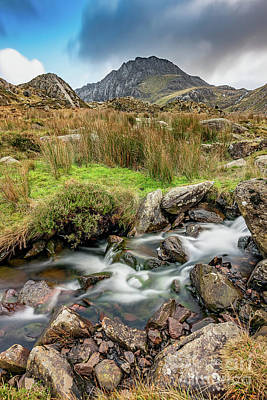 Photograph - Tryfan Snowdonia National Park by Adrian Evans