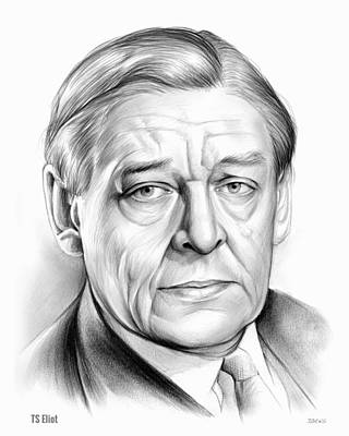 Ts Eliot Art Print by Greg Joens