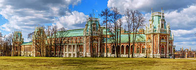Photograph - Tsaritsyno Palace by Alexey Stiop