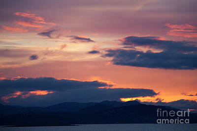 Photograph - Tsawassen Ferry Sunset by Donna Munro