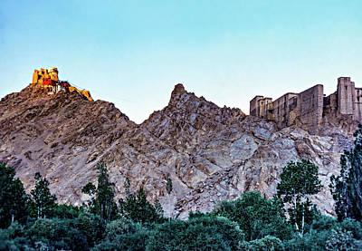 Tsemo Fort - Ladakh Art Print by Steve Harrington