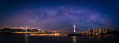 Photograph - Tsing Ma Bridge by Brenden King