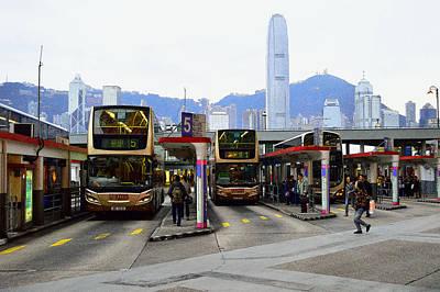 Tst Bus Terminal Art Print