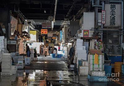 Photograph - Tsukiji Shijo, Tokyo Fish Market, Japan 4 by Perry Rodriguez