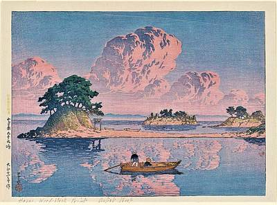 Painting - Tsukumojima In Shimabara by Pg Reproductions