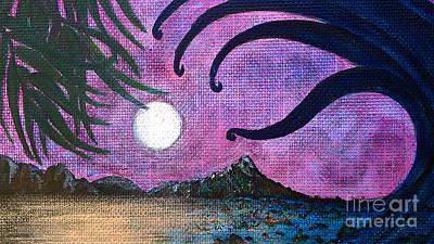 Painting - Tsunami In Waikiki by Jennifer Bright