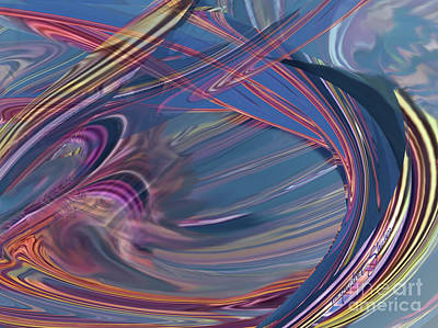 Digital Art - Tsunami by Jacqueline Shuler