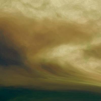 Nonrepresentational Digital Art - Tsunami by Lonnie Christopher
