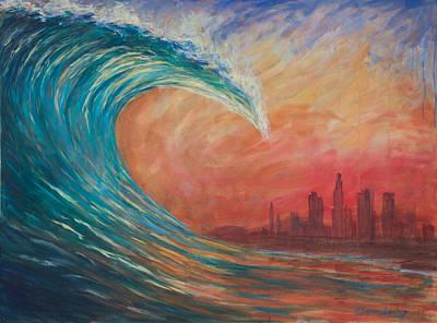 Tsunami Of Revival Original by Chapman Hamborg