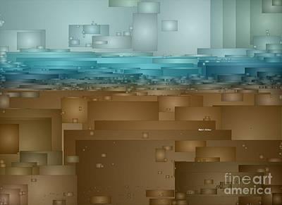 Digital Art - Tsunami by Rafael Salazar
