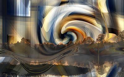 Photograph - Tsunami by rd Erickson
