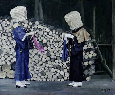 Painting - Tsuyuharai by Masami Iida