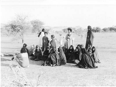 Photograph - Tuareg In The Southern Sahara by Yali Shi