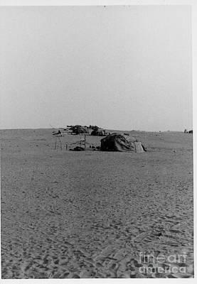 Photograph - Tuareg Tents In The Sahara by Yali Shi